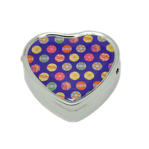 Pill Box For Pocket or Purse/ Multifunction Small Jewel Box Case  G
