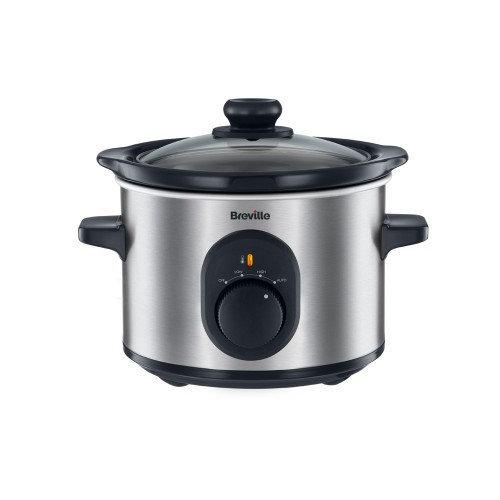 Breville VTP169 1.5L Stainless steel slow cooker