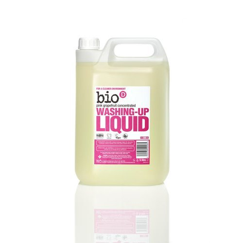 Bio-D  Washing Up Liquid - Grapefruit 5Ltr