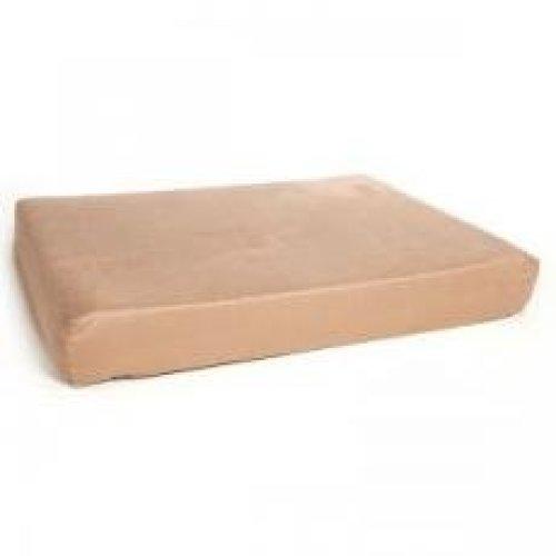 Premium Memory Foam Mattress Tan 137x91x12.5cm