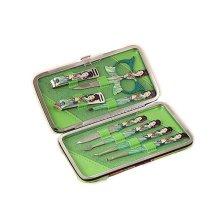 [GREEN] GOOOD 8 PCS Chinese Beauty Manicure/Pedicure Kits Nail Care Personal Set