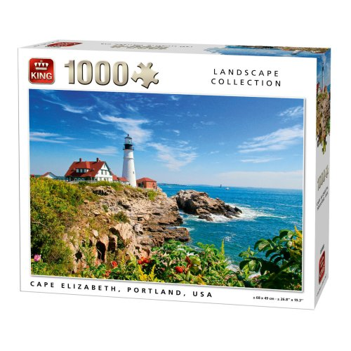 LANDSCAPE COLLECTION 1000 PCS USA PUZZLE