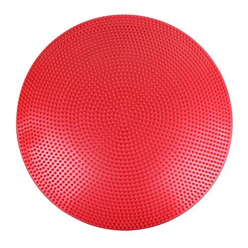 CanDo Inflatable Vestibular Balance Disc, 23.6 diameter, Red