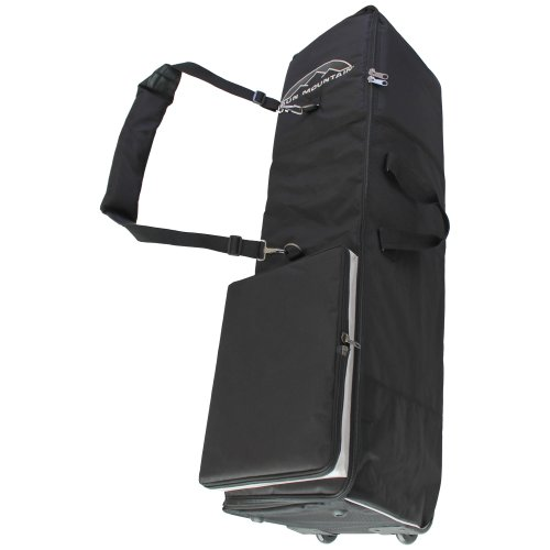 Sun Mountain Travelight Golf Club Padded Bag Flight Cover Case with Wheels