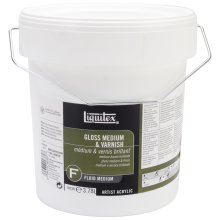 Liquitex Gloss Acrylic Fluid Medium & Varnish-1gal FOB: MI