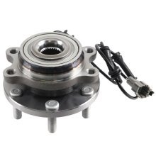 Nissan Navara D40 2005-2015 Front Hub Wheel Bearing Kit Inc Abs Sensor