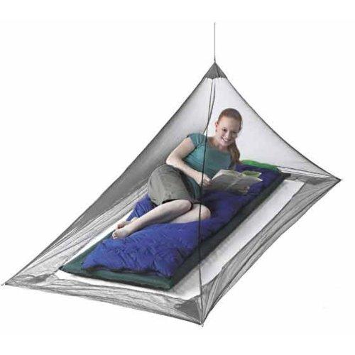 Sea to Summit Nano Single Standard Mosquito Net (Grey)