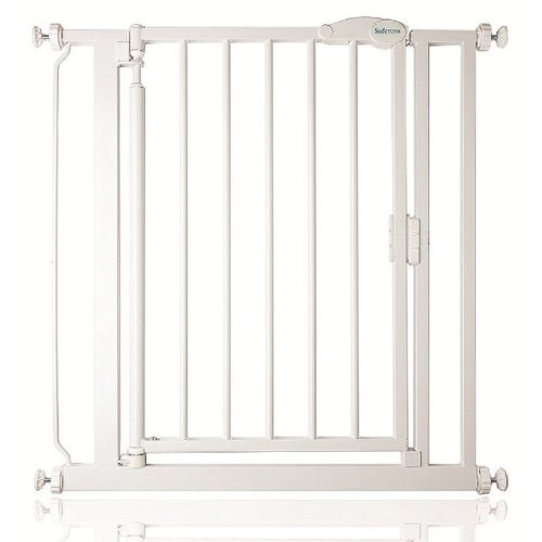 Safetots Self Closing Gate White